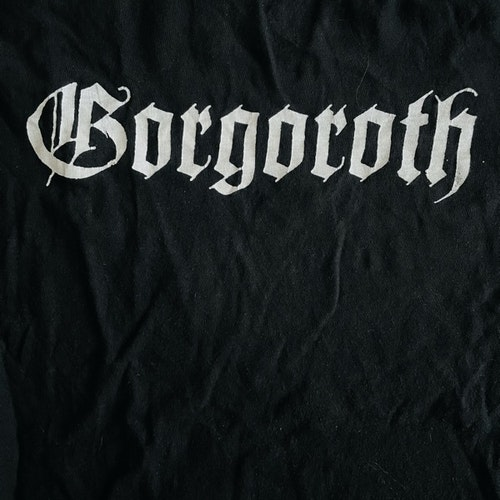 GORGOROTH Logo (S) (USED) T-SHIRT