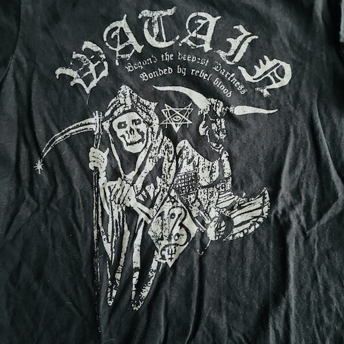 WATAIN Beyond the Deepest Darkness (Lady S) (USED) T-SHIRT