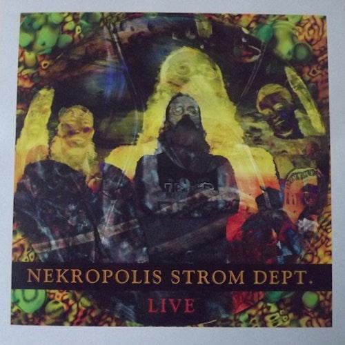NEKROPOLIS STROM DEPT. Live (Pure Pop For Now People - Germany original) (NM) LP