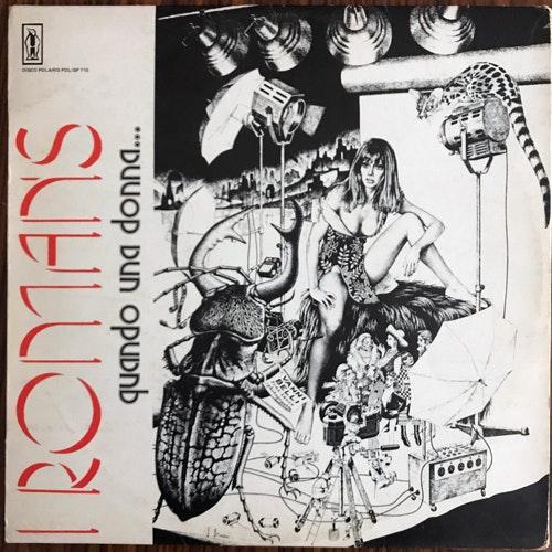 I ROMANS Quando Una Donna... (Polaris - Italy original) (VG/VG+) LP