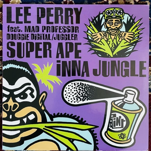 LEE PERRY FEAT. MAD PROFESSOR / DOUGGIE DIGITAL / JUGGLER Super Ape Inna Jungle (Ariwa - UK original) (VG) LP