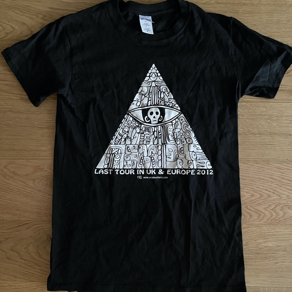 ACID MOTHERS TEMPLE Europe 2012 (S) (USED) T-SHIRT