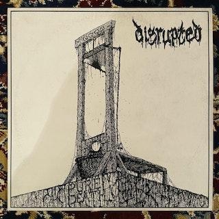 DISRUPTED Pure Death (Clear vinyl) (De:Nihil - Sweden original) (NM) LP