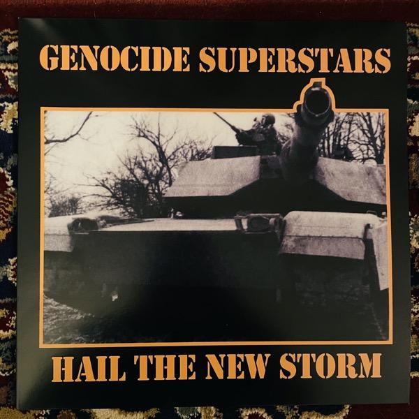 GENOCIDE SUPERSTARS Hail The New Storm (De:Nihil - Sweden reissue) (NM) LP