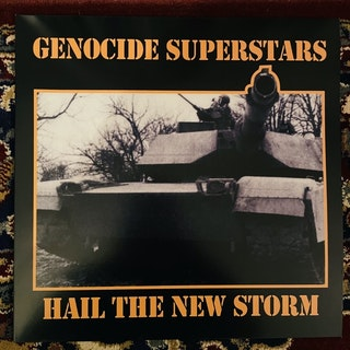 GENOCIDE SUPERSTARS Hail The New Storm (De:Nihil - Sweden reissue) (NM) LP