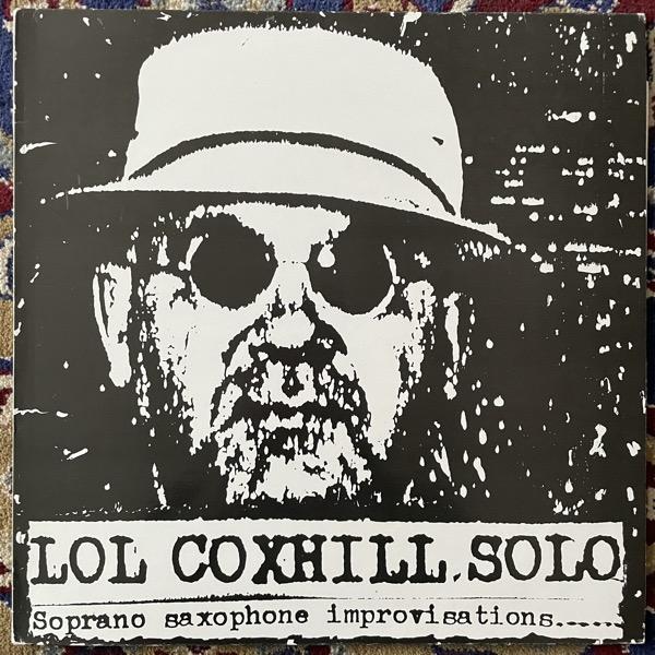 LOL COXHILL Solo (Shock - UK original) (VG+) LP
