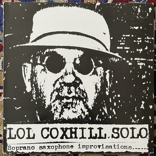 LOL COXHILL Solo (Shock - UK original) (VG+) LP