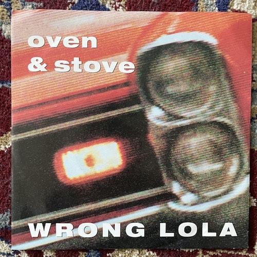 "OVEN & STOVE Wrong Lola (WEA - Germany original) (VG+) 7"""