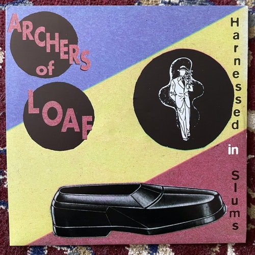 "ARCHERS OF LOAF Harnessed In Slums (Alias - USA original) (EX/VG+) 7"""