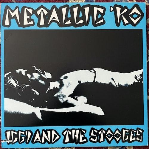 IGGY AND THE STOOGES Metallic 'KO (Visa - USA 2nd press) (VG+/EX) LP