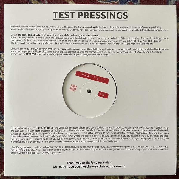 ANDREW WEATHERALL Qualia (Test press) (Höga Nord - Sweden original) (EX) 2LP