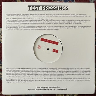 ANDREW WEATHERALL Qualia (Test press) (Höga Nord - Sweden original) (EX) 2LP