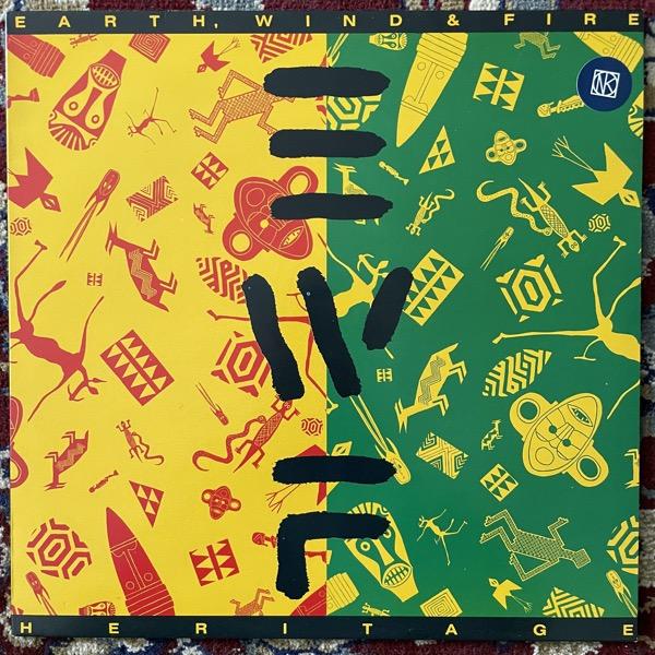 EARTH, WIND & FIRE Heritage (CBS - Europe original) (EX) LP