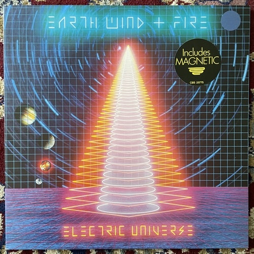 EARTH, WIND & FIRE Electric Universe (CBS - Europe original) (EX/VG+) LP