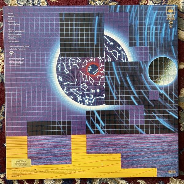 EARTH, WIND & FIRE Electric Universe (CBS - Europe original) (EX/VG+) LP