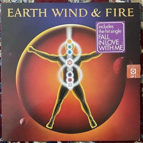 EARTH, WIND & FIRE Powerlight (CBS - Europe original) (VG+) LP
