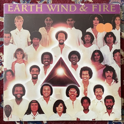 EARTH, WIND & FIRE Faces (CBS - Europe original) (VG) 2LP