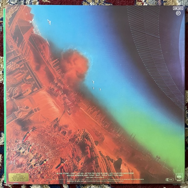 EARTH, WIND & FIRE I Am (CBS - Europe original) (VG+) LP