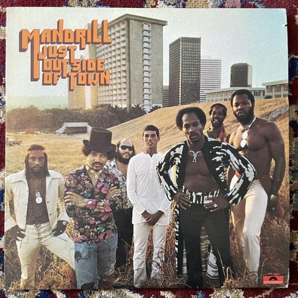 MANDRILL Just Outside Of Town (Polydor - USA original) (VG+) LP