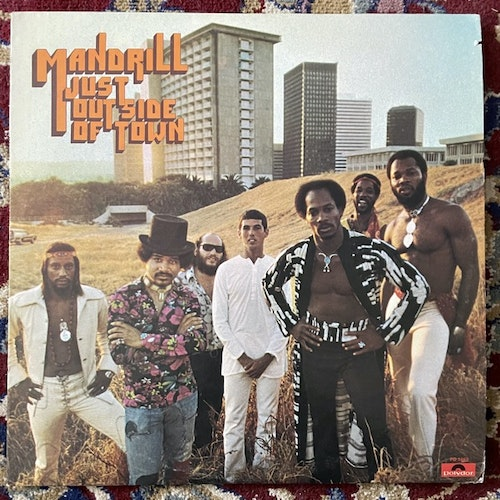 MANDRILL Just Outside Of Town (Polydor - USA original) (VG+) LP