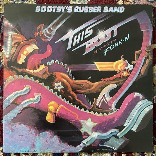 BOOTSY'S RUBBER BAND This Boot Is Made For Fonk-n (Warner - USA original) (EX/VG+) LP