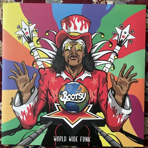 BOOTSY COLLINS World Wide Funk (Splatter vinyl) (Mascot - Europe, USA original) (EX/NM) 2LP