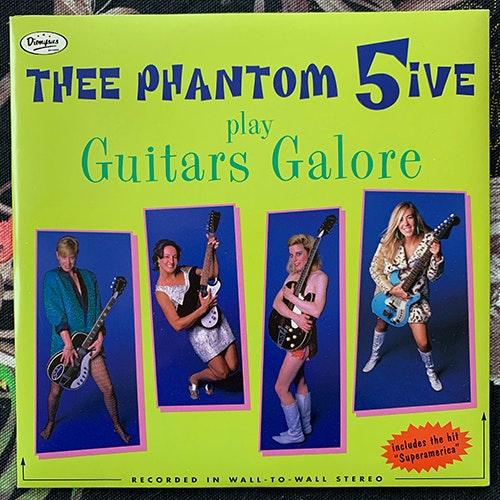 """THEE PHANTOM 5IVE Guitars Galore (Dionysus - USA original) (EX/VG+) 7"""""""