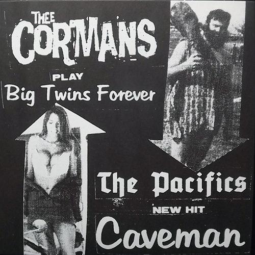 """THEE CORMANS/THE PACIFICS Split (Bachelor - Austria original) (NM/EX) 7"""""""