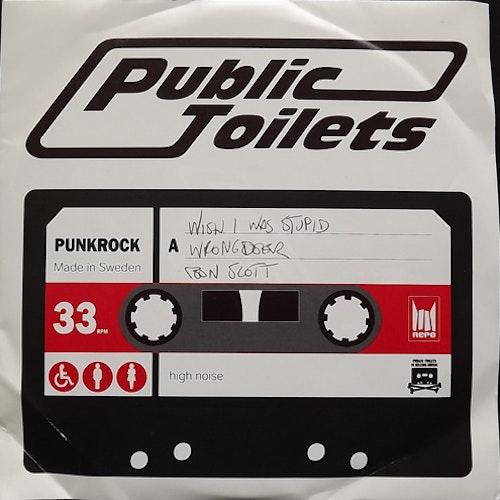 "PUBLIC TOILETS Public Toilets (Repo - Sweden original) (VG/VG+) 7"""