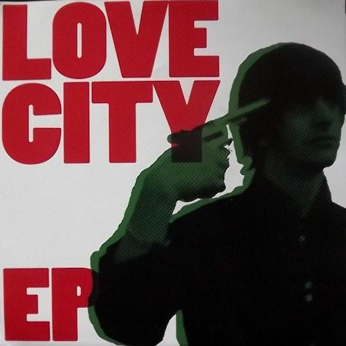 "LOVE CITY Love City EP (Yellow vinyl) (Certified PR - USA original) (EX) 7""+CD"