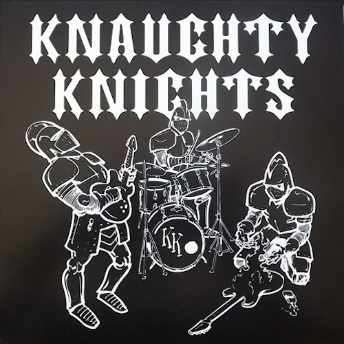 """KNAUGHTY KNIGHTS Tommy Of The River (Clear green vinyl) (Shattered - USA repress) (NM) 7"""""""