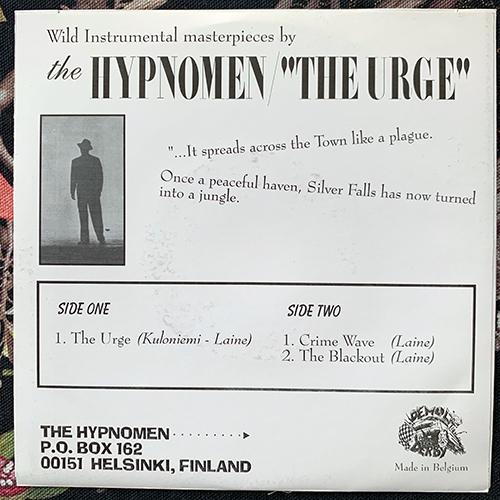 """HYPNOMEN, the The Urge (Demolition Derby - Belgium original) (EX/VG+) 7"""""""