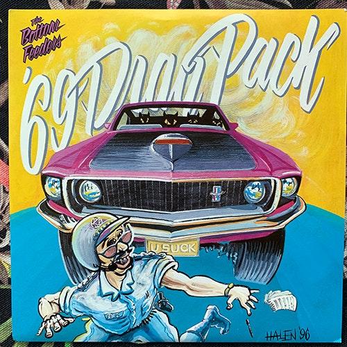 "BOTTOM FEEDERS, the '69 Drag Pack (Scooch Pooch - USA original) (EX/VG+) 7"""