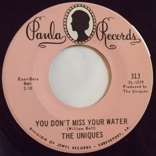 """UNIQUES, the How Lucky (Can One Man Be) (Paula - USA original) (EX) 7"""""""