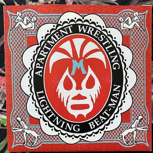 "LIGHTNING BEAT-MAN Apartment Wrestling (Sounds of Subterrania - Germany original) (VG+) 7"""