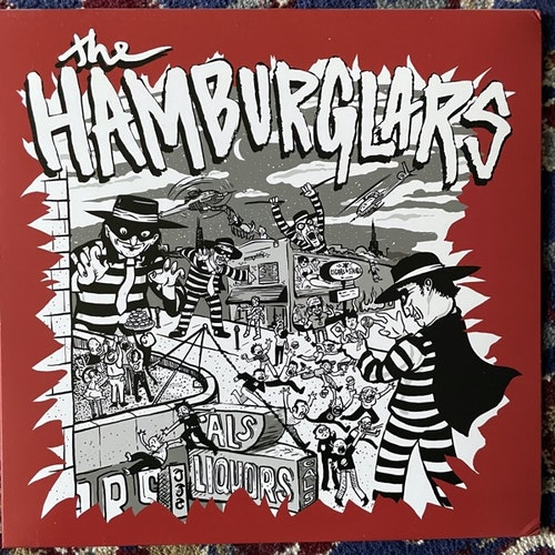 "HAMBURGLARS, the The Hamburglars (Self released - USA original) (EX) 10"""