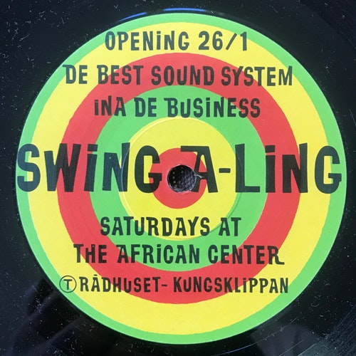 SWING-A-LING SOUND SYSTEM Dangerous (Promo) (Telegram - Sweden original) (VG+) 7""