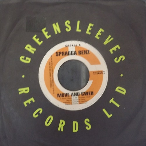 SPRAGGA BENZ/CHICO Split (Greensleeves - UK original) (VG/EX) 7""