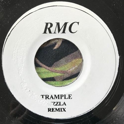 """SIZZLA Trample (Remix) (RMC - Jamaica original) (VG+) 7"""""""