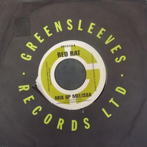 "RED RAT/MAIN STREET CREW Split (Greensleeves - UK original) (VG/EX) 7"""