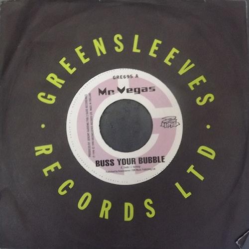 "MR. VEGAS/KURUPP Split (Greensleeves - UK original) (VG+/EX) 7"""