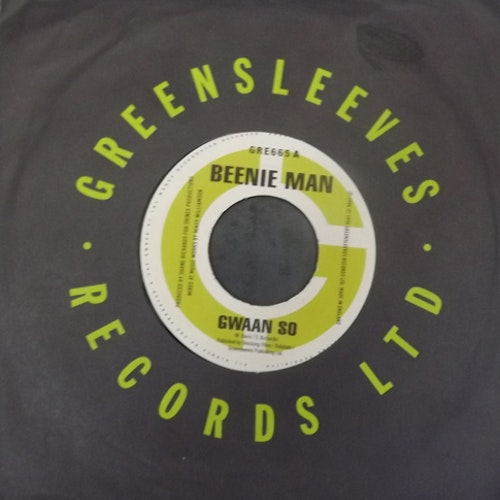 BEENIE MAN / FUTURE TROUBLES Split (Greensleeves - UK original) (VG+/EX) 7""