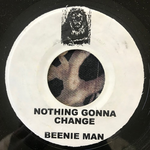 BEENIE MAN Nothing Gonna Change (No label - USA original) (VG+) 7""