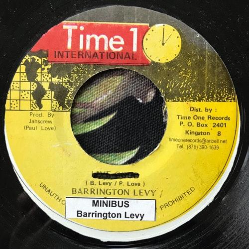 "BARRINGTON LEVY Minibus (Misprint) (Time 1 International - Jamaica original) (VG) 7"""