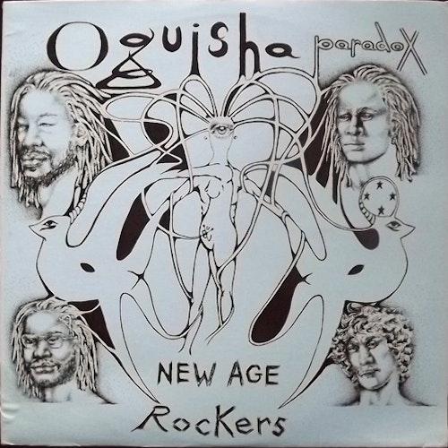 "OQUISHA PARADOX New Age Rockers (Po Tolo - USA original) (VG+) 12"" EP"