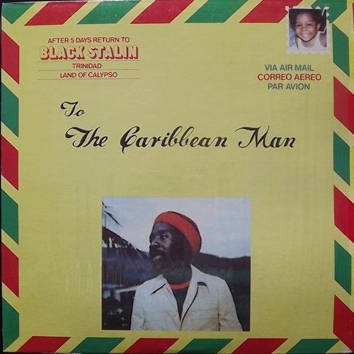 BLACK STALIN To The Caribbean Man (Red vinyl) (Makossa - USA original) (EX) LP