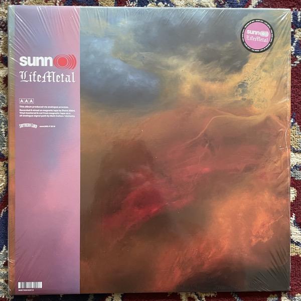 SUNN O))) Life Metal (Pink rose vinyl) (Southern Lord - Europe original) (NM) 2LP