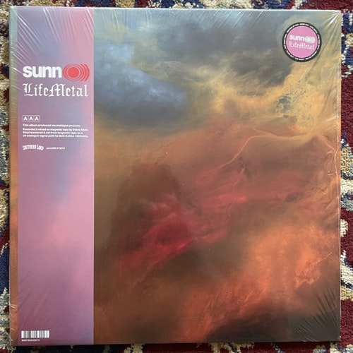 SUNN O))) Life Metal (Pink rose vinyl) (Southern Lord - Europe original) (NM) 2LP