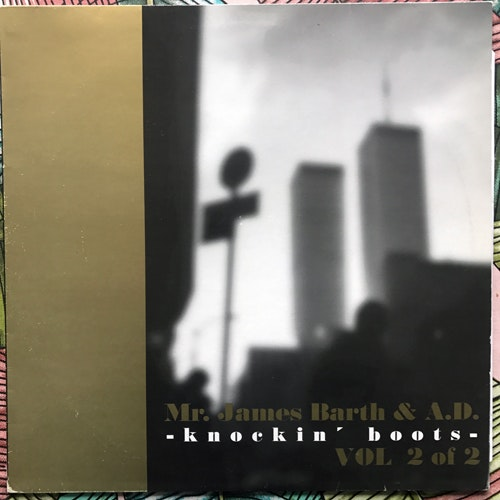 """MR. JAMES BARTH & A.D. Knockin' Boots Vol 2 Of 2 (Svek - Sweden original) (VG+) 12"""""""