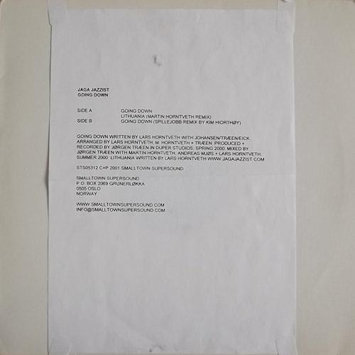 """JAGA JAZZIST Going Down (Smalltown Supersound - Norway original) (VG+) 12"""" EP"""